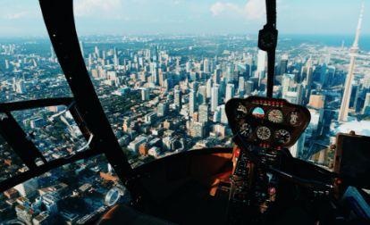 Foto de transporte de helicóptero