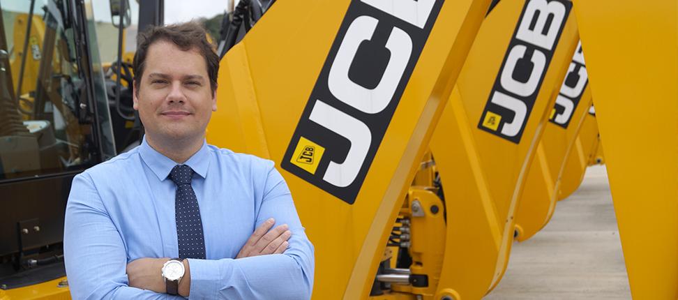 Alisson R. Brandes, diretor de vendas e marketing da JCB do Brasil  Crédito: Divulgação/JCB